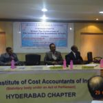 During the Annual Day Celebrations of The Institute of Cost Accountants of India at Hyderabad Chapter
